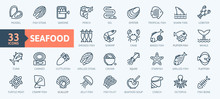 Fish And Seafood Elements - Th...