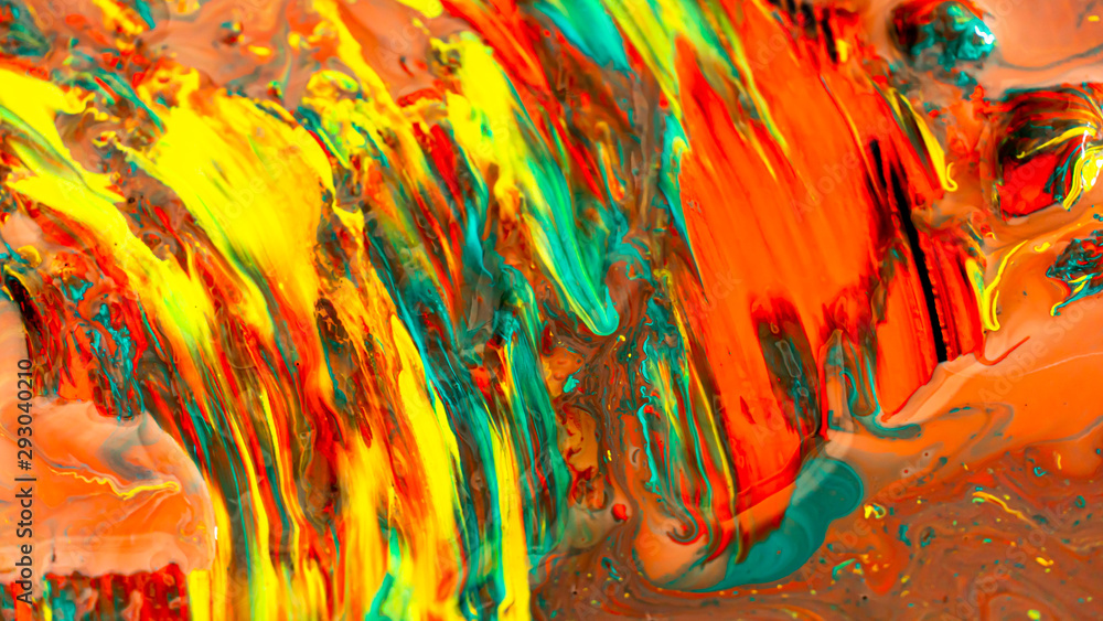 Fototapeta Acrylic color painting abstract background