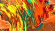 Leinwandbild Motiv Acrylic color painting abstract background