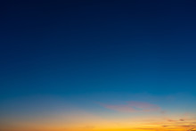Colorful Clear Sky With No Clo...