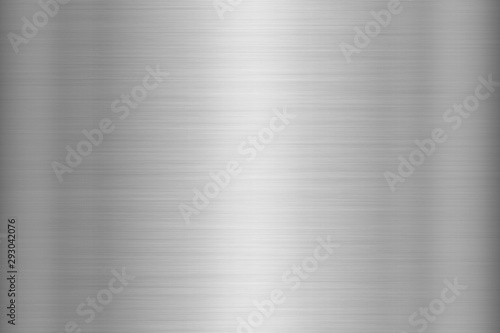 Silver steel texture background Canvas Print