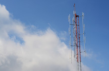 Communications Tower With A Bl...