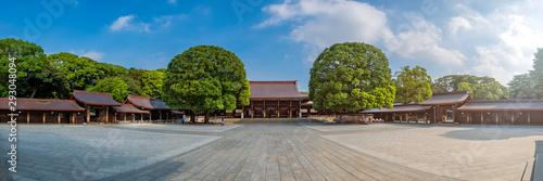 Scenic view at  Meji Jingu or Meji Shrine area in Tokyo, Japan. Fototapeta