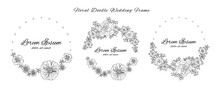 Floral Flower Doodle Sketch We...