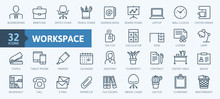 Office Workspace Elements - Th...