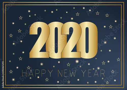 Fototapeta Gold Lines 2020 New Year On A Dark Red Background Creative Element For Design Luxury Cards Invitations Party For The New Year And Christmas