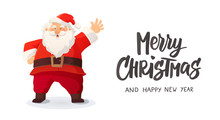 Merry Christmas Card. Funny Ca...