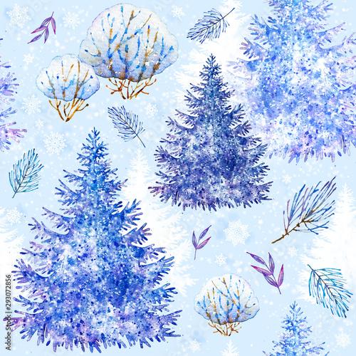 swierk-swiateczne-rosliny-szczesliwego-nowego-roku-akwarela-wesolych-swiat-swiateczne-ozdoby-akwarela-recznie-malowane-ilustracji-botanicznych-swiateczne-bezszwowe-patern