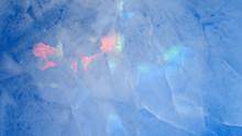 Multicolored Glow Ice Texture ...