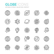 Collection Of Globe And Earth ...