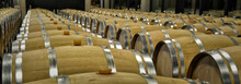 Red Wine Barrels In Ribera Del...