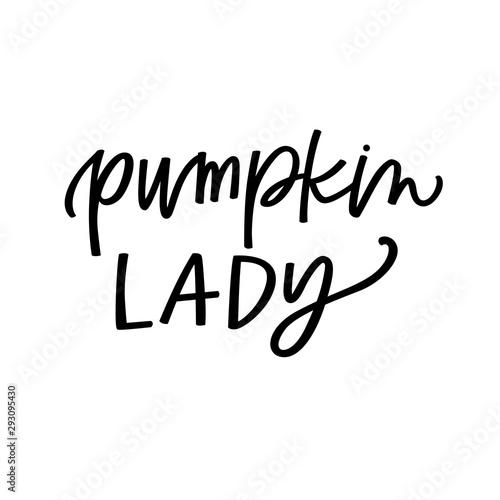 Fotografie, Obraz  Pumpkin Lady