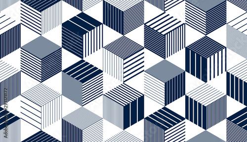 Naklejki na meble Geometryczny projekt ciekawego tła