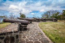 Medieval Cannons On The Hillto...