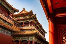 The Lama Temple In Beijing, China
