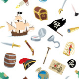 Pirate Accessories Pattern