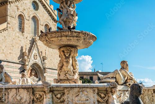Fotografie, Obraz MESSINA, ITALY- January 20, 2019: Messina Cathedral is a Roman Catholic cathedra