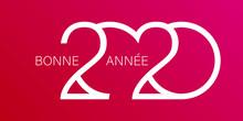 Carte De Vœux Année 2020
