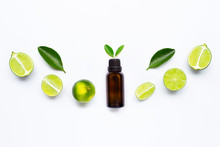 Essential Oil With Limes And L...
