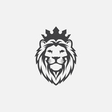 Lion Luxury Logo Icon Template...