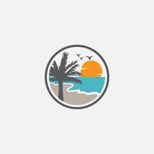 Beach Logo, Beach And Island L...