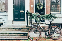 Cozy City Picture, A Bicycle P...