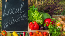 Sale Of Fresh Vegetables At Th...