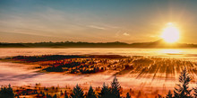 Sunrise Over Cloud Inversion C...