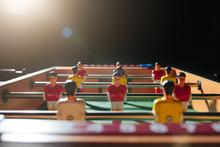 Foosball Table Soccer. Sport T...