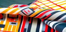 Texture  Pattern. Silk Fabric ...