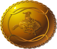 Vector Image Of A Belt Buckle ...