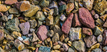 Gravel Stones In Diverse Color...