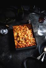 Macaroni And Cheese Bolognese Bake