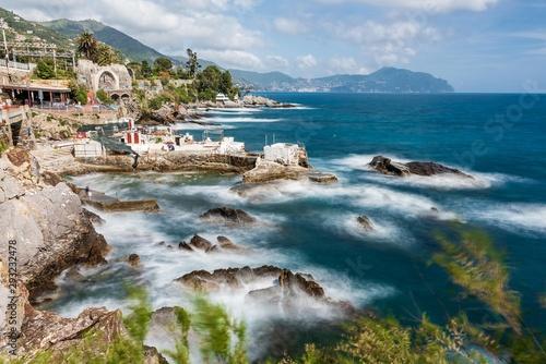Photographie  Coastline of Nervi