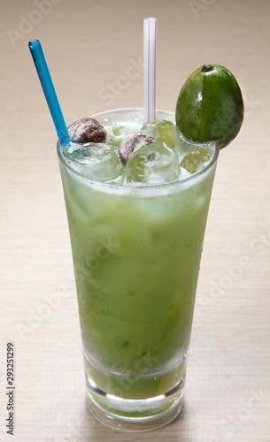 Photo refreshing ampula juice.