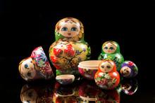 Beautiful Russian Nesting Dolls