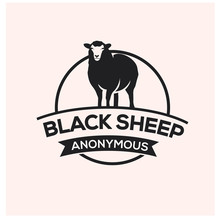 Black Sheep Logo Design