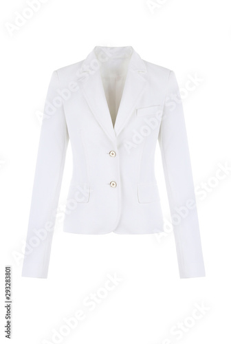 Photo White women's jacket