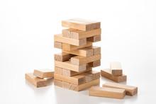 積み上げたブロック