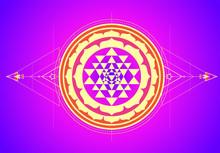 The Sri Yantra Or Sri Chakra, ...