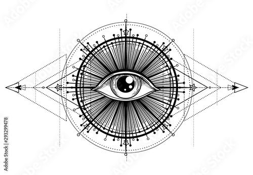 Fotomural Eye of Providence