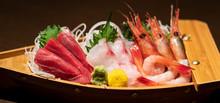 Assorted Sashimi Platter. Sash...