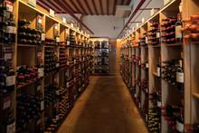 Interior Of A Wine Shop In Sai...