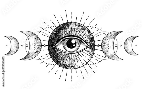 Cuadros en Lienzo  Eye of Providence