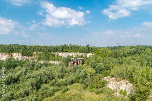 Photo  Quarry Liban in Krakow, Malopolska, Poland.