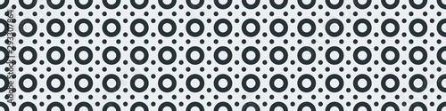 Cuadros en Lienzo  Truchet Motif Pattern Generative Tile Art background illustration