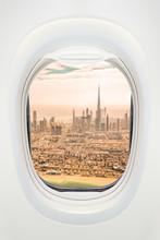 Dubai Seen Through The Window ...