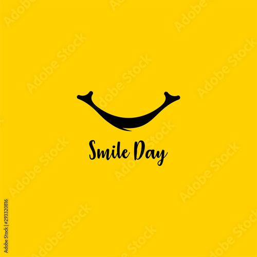 World Smile Day Vector Design Template
