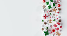 Christmas White Background Wit...