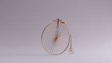 Bronze Penny Farthing Bicycle ...